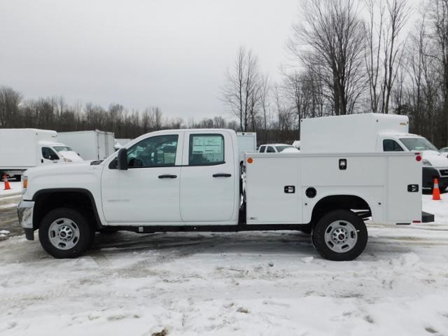 2019 GMC Sierra 2500 Double Cab 4x4, Monroe MSS II Service Body #G192701 - photo 6