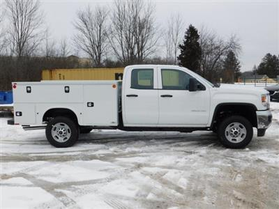 2019 GMC Sierra 2500 Double Cab 4x4, Monroe MSS II Service Body #G192701 - photo 3