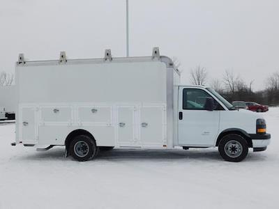 2020 GMC Savana 4500 DRW 4x2, Dejana DuraCube Max Service Utility Van #G202862 - photo 3