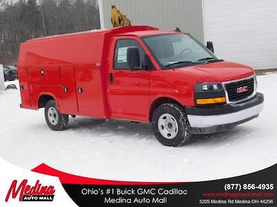 2020 GMC Savana 3500 4x2, Knapheide KUV Service Utility Van #G203056 - photo 1