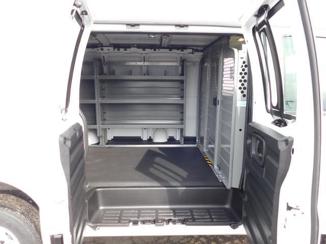 2021 GMC Savana 2500 4x2, Adrian Steel Commercial Shelving Upfitted Cargo Van #G211172 - photo 8