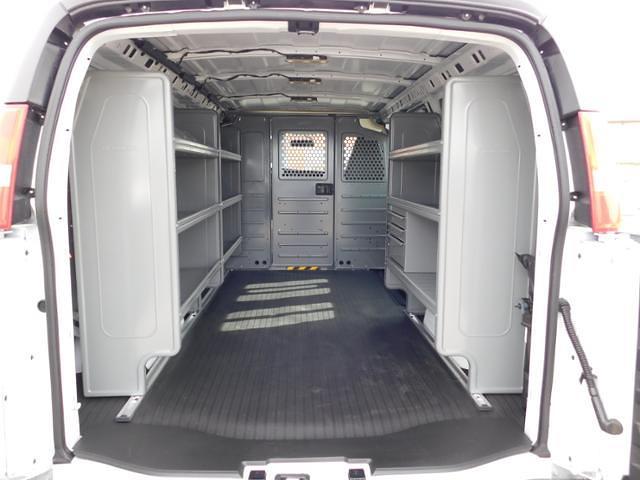 2021 GMC Savana 2500 4x2, Adrian Steel Commercial Shelving Upfitted Cargo Van #G211172 - photo 2