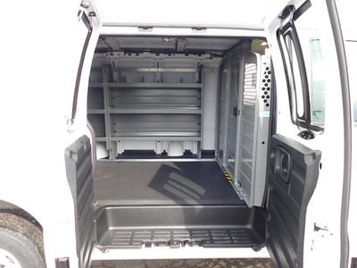 2021 GMC Savana 2500 4x2, Adrian Steel Commercial Shelving Upfitted Cargo Van #G211173 - photo 8