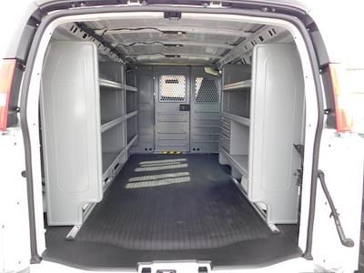 2021 GMC Savana 2500 4x2, Adrian Steel Commercial Shelving Upfitted Cargo Van #G211173 - photo 2