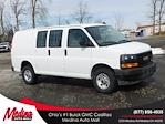 2021 GMC Savana 2500 4x2, Adrian Steel Commercial Shelving Upfitted Cargo Van #G211173 - photo 1