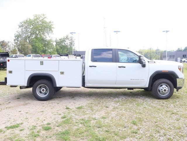 2021 Sierra 3500 Crew Cab 4x4,  Monroe Truck Equipment MSS II Service Body #G212164 - photo 3