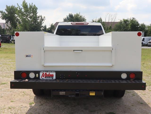 2021 Sierra 3500 Crew Cab 4x4,  Monroe Truck Equipment MSS II Service Body #G212164 - photo 2