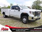 2021 Sierra 3500 Crew Cab 4x4,  Monroe Truck Equipment MSS II Service Body #G212164 - photo 1