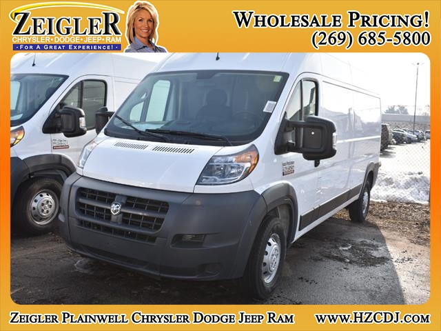 2018 ProMaster 2500 High Roof FWD,  Empty Cargo Van #JE150665 - photo 1