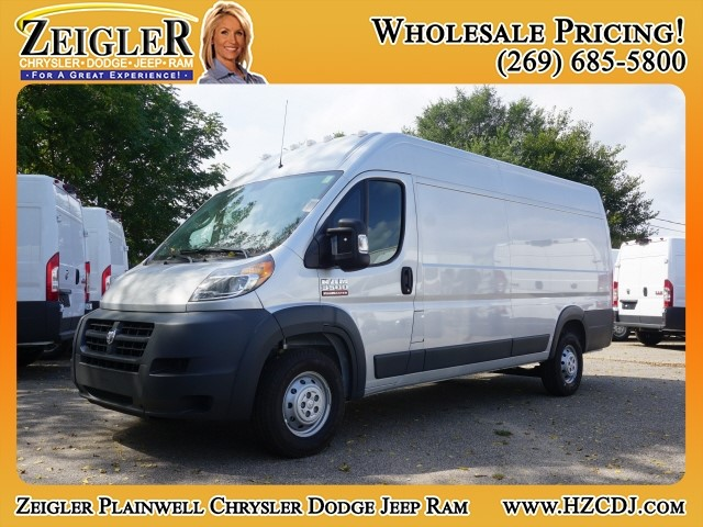 2018 ProMaster 3500 High Roof FWD,  Empty Cargo Van #JE152428 - photo 1