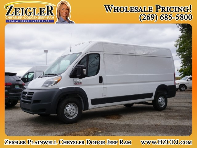 2018 ProMaster 2500 High Roof FWD,  Empty Cargo Van #JE152861 - photo 1