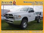 2018 Ram 3500 Regular Cab 4x4,  Cab Chassis #JG133375 - photo 1