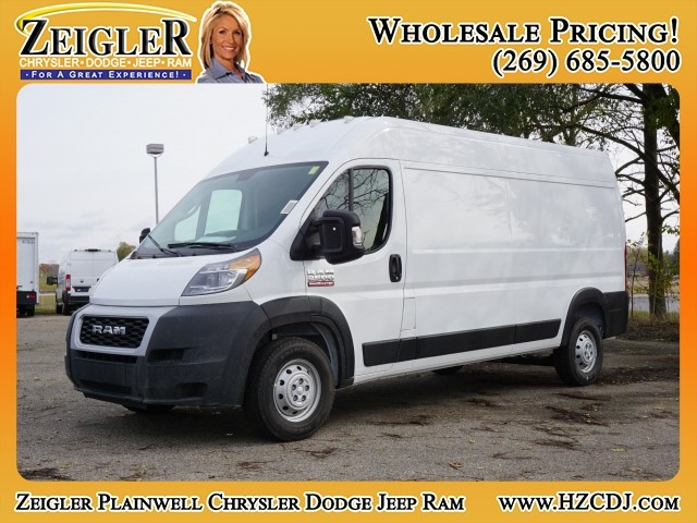2019 ProMaster 2500 High Roof FWD,  Empty Cargo Van #KE501357 - photo 1