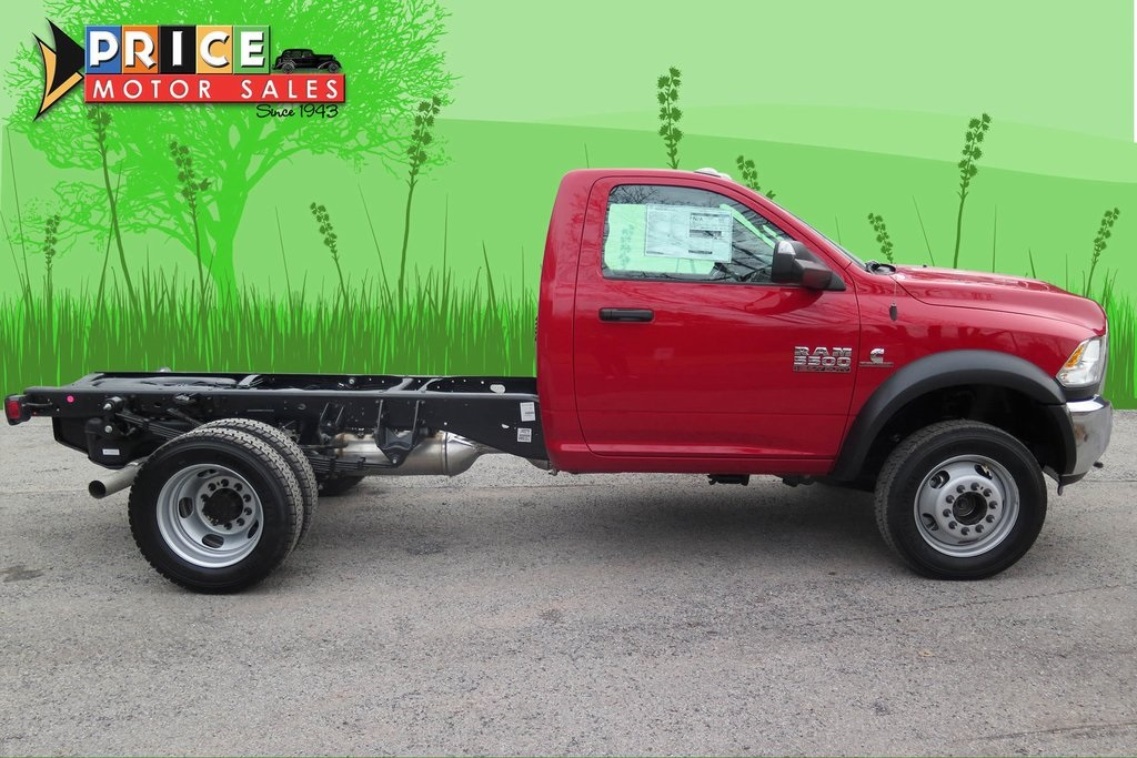 2018 Ram 5500 Regular Cab DRW 4x4,  Cab Chassis #185614 - photo 6