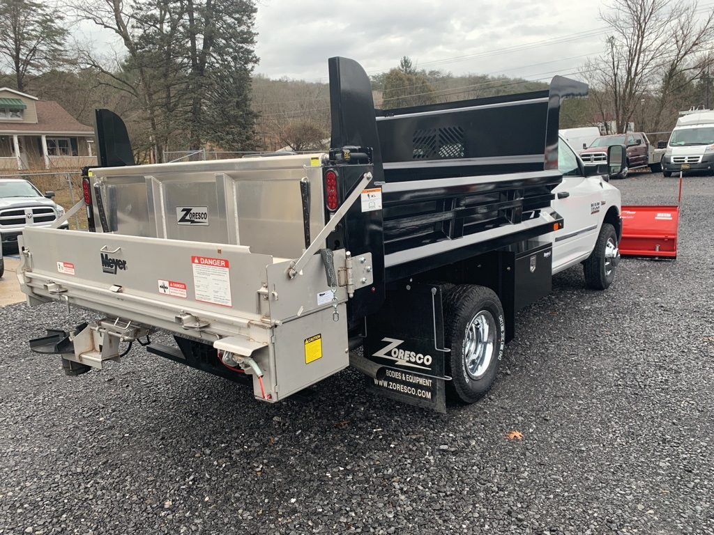 2018 Ram 3500 Regular Cab DRW 4x4,  Rugby Dump Body #346480 - photo 2