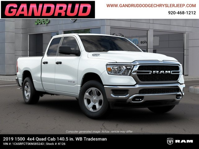 2019 Ram 1500 Quad Cab 4x4,  Pickup #K126 - photo 12