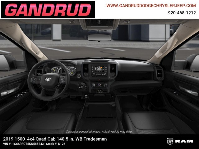 2019 Ram 1500 Quad Cab 4x4,  Pickup #K126 - photo 14