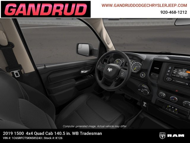 2019 Ram 1500 Quad Cab 4x4,  Pickup #K126 - photo 18
