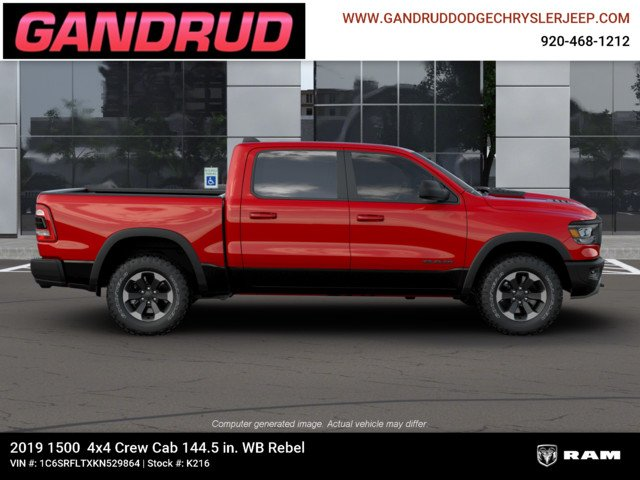 2019 Ram 1500 Crew Cab 4x4,  Pickup #K216 - photo 11