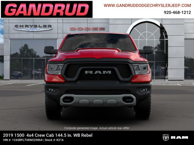 2019 Ram 1500 Crew Cab 4x4,  Pickup #K216 - photo 3