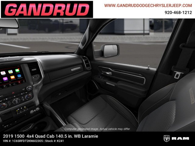 2019 Ram 1500 Quad Cab 4x4,  Pickup #K241 - photo 18