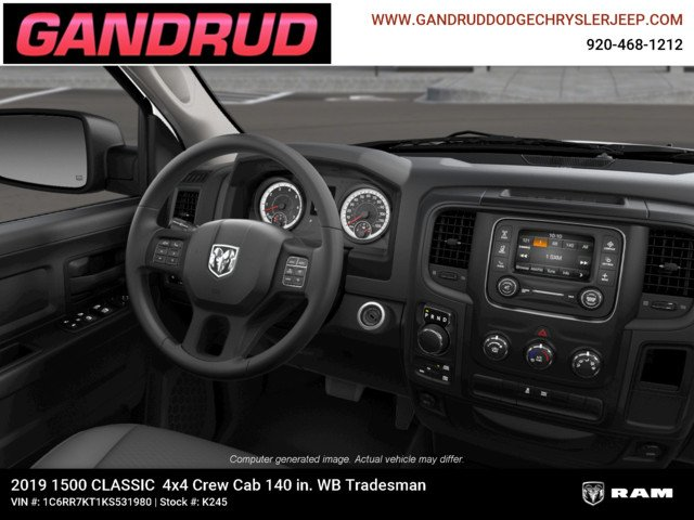 2019 Ram 1500 Crew Cab 4x4,  Pickup #K245 - photo 15