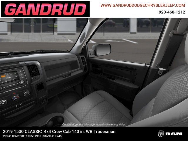 2019 Ram 1500 Crew Cab 4x4,  Pickup #K245 - photo 2