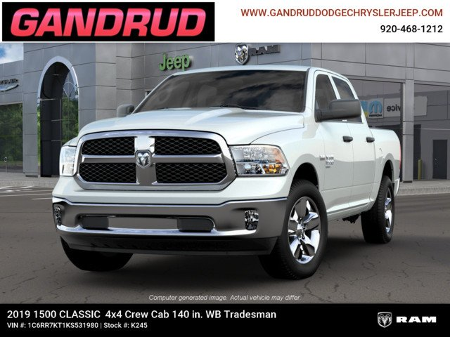 2019 Ram 1500 Crew Cab 4x4,  Pickup #K245 - photo 4