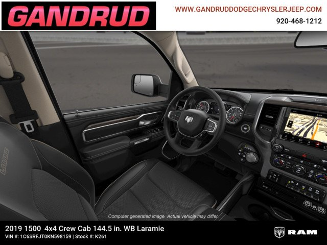 2019 Ram 1500 Crew Cab 4x4,  Pickup #K261 - photo 19