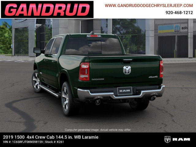 2019 Ram 1500 Crew Cab 4x4,  Pickup #K261 - photo 7