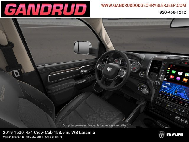 2019 Ram 1500 Crew Cab 4x4,  Pickup #K309 - photo 18