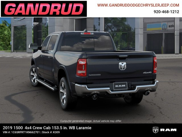2019 Ram 1500 Crew Cab 4x4,  Pickup #K309 - photo 7