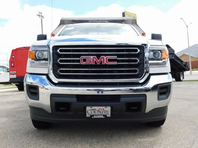 2019 Sierra 3500 Regular Cab DRW 4x4,  Monroe Dump Body #GT02825 - photo 9