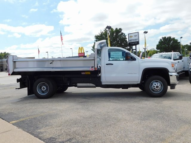 2019 Sierra 3500 Regular Cab DRW 4x4,  Monroe Dump Body #GT02825 - photo 3