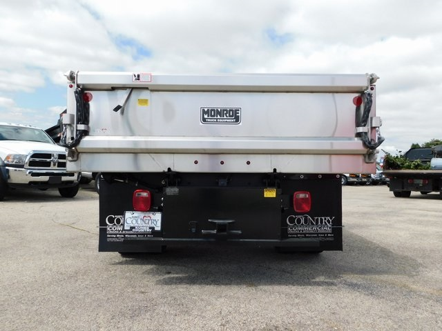 2019 Sierra 3500 Regular Cab DRW 4x4,  Monroe Dump Body #GT02825 - photo 7