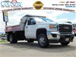 2019 Sierra 3500 Regular Cab DRW 4x4,  Monroe Dump Body #GT02825 - photo 1