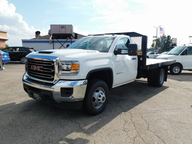 2018 Sierra 3500 Regular Cab DRW 4x2,  Monroe Platform Body #GT02841 - photo 6