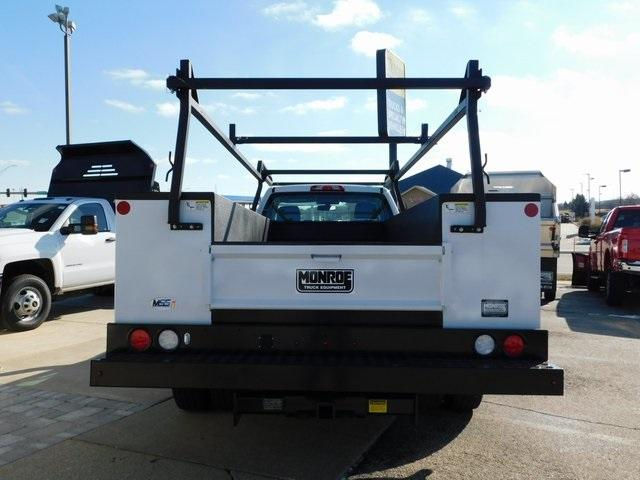 2019 Sierra 3500 Regular Cab DRW 4x4,  Monroe Service Body #GT02954 - photo 6