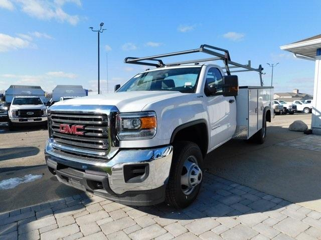 2019 Sierra 3500 Regular Cab DRW 4x4,  Monroe Service Body #GT02954 - photo 7