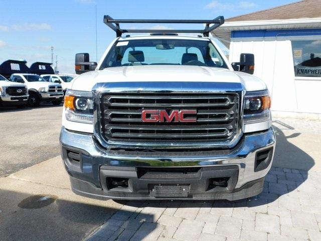2019 Sierra 3500 Regular Cab DRW 4x4,  Monroe Service Body #GT02954 - photo 8