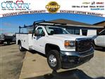 2019 Sierra 3500 Regular Cab DRW 4x4,  Monroe Service Body #GT02954 - photo 1