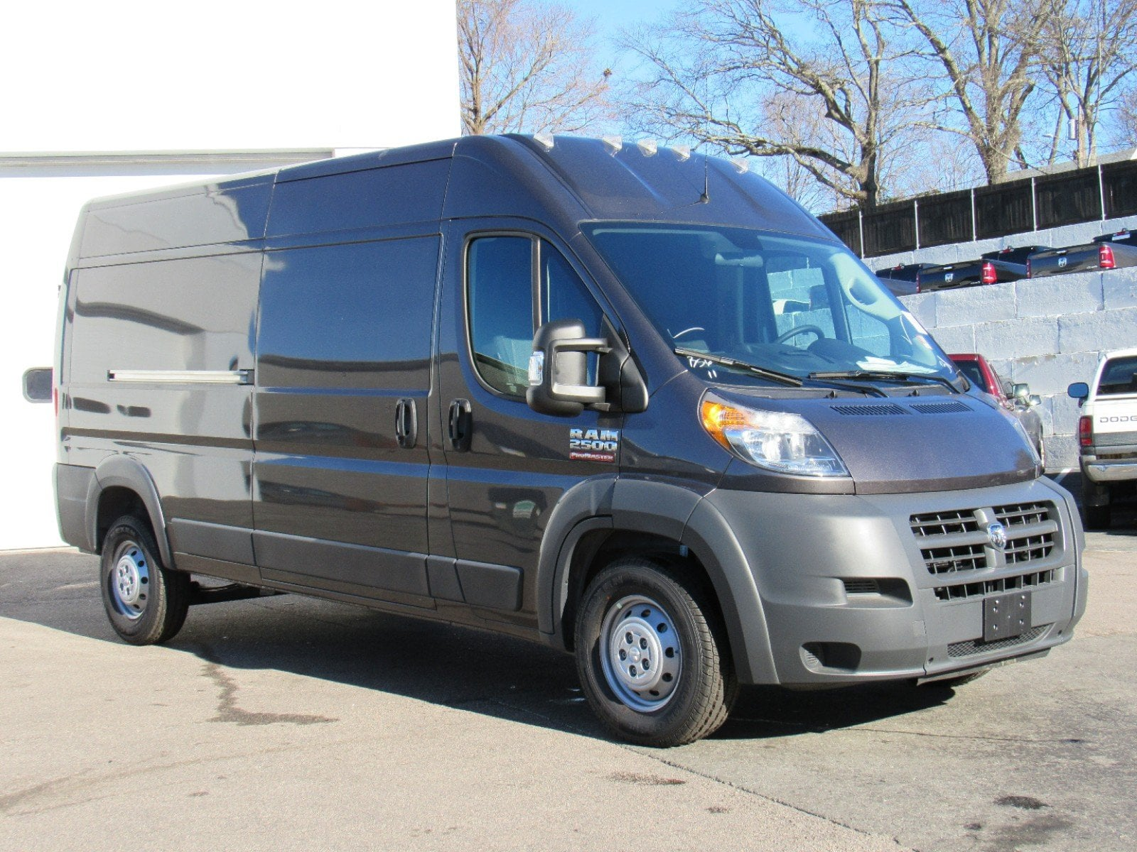 2018 ProMaster 2500 High Roof FWD,  Empty Cargo Van #D3369 - photo 3