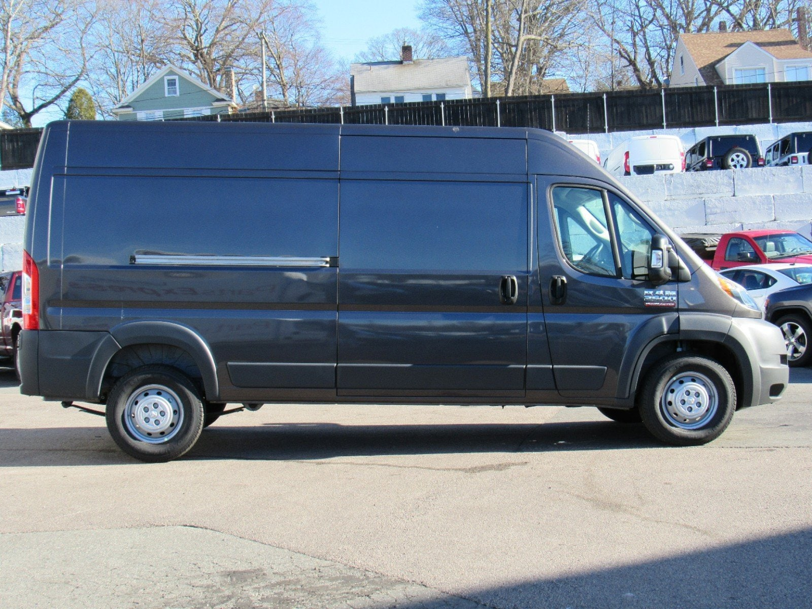2018 ProMaster 2500 High Roof FWD,  Empty Cargo Van #D3369 - photo 4