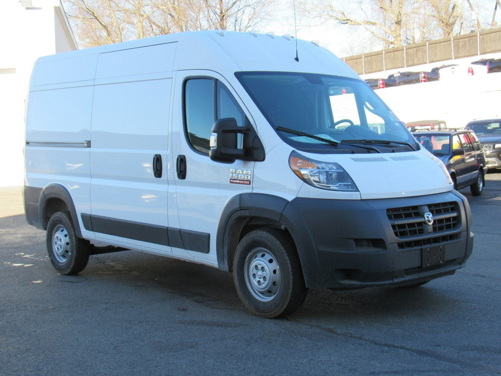 2018 ProMaster 1500 High Roof FWD,  Empty Cargo Van #D3457 - photo 3