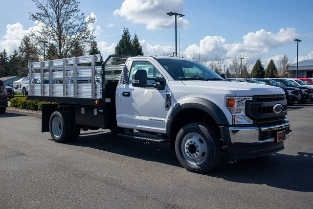 2020 Ford F-550 Regular Cab DRW 4x2, PMI Stake Bed #T21889A - photo 1