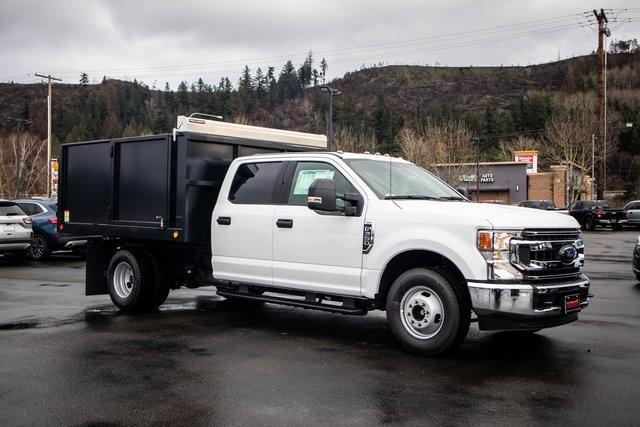 2020 Ford F-350 Crew Cab DRW 4x2, PMI Landscape Dump #T21404 - photo 1