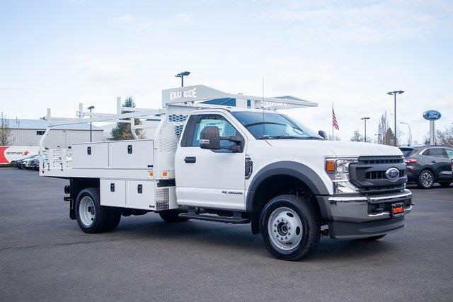 2020 Ford F-450 Regular Cab DRW 4x4, Knapheide Contractor Body #T21550 - photo 1