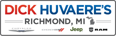 Dick Huvaere's Richmond Chrysler Dodge Jeep RAM logo