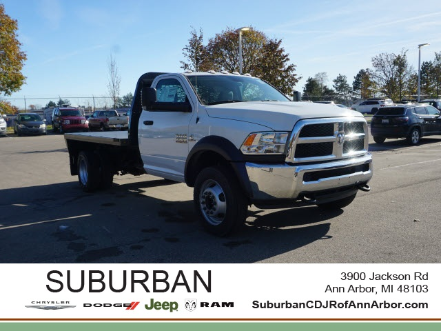 2018 Ram 4500 Regular Cab DRW 4x2, Knapheide Platform Body #BJ1299 - photo 1