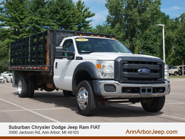 2014 Ford F-550 Regular Cab DRW 4x2, Stake Bed #BL0883A - photo 1